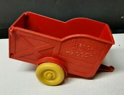 1957 Roy Rogers Trigger Rr Ranch Horse Trailer Ideal Toy