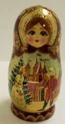 And Princess Russian Nesting Dolls By G. Debrekht