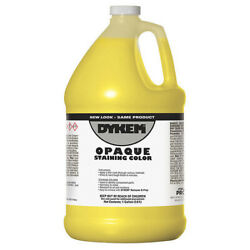 Dykem 81705 Opaque Staining Color,gallon,yellow