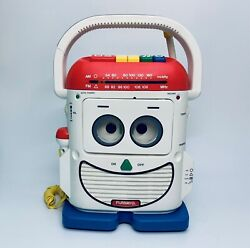 Toy Story Mr Mike Ps 460 Rockin Robot Playskool Mic Cassette Player Record 1991