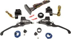Performance Machine 9/16in Black Can Bus Hand Control Kit W/ Hydraulic