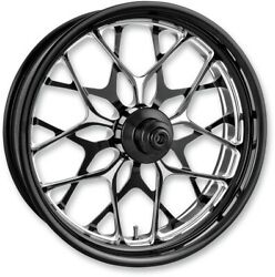 Performance Machine Platinum Abs 21in Galaxy Front Wheel For 14-17