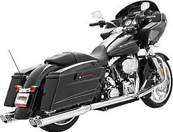 Freedom Racing Dual Exhaust System-chrome For Harley Davidson 1995-2008 Hd00134
