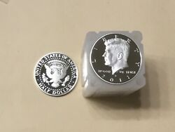 2011 S Silver Kennedy Half My Best Ungraded 20 Coin Roll Nice Proof Coins