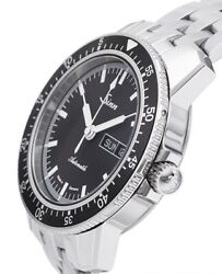 Sinn 104.st.sa Watch Men's Automatic Black Dial Stainless Steel Band Case 41 Mm