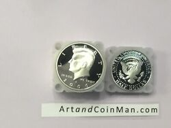 1992 S Silver Kennedy Half My Best Ungraded 20 Coin Roll Nice Proof Coins