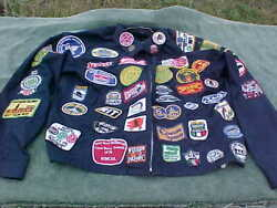 Vintage Railroad Rr Ry Jacket Coat With Patch Collection Union Pacific Colorado