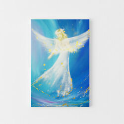 Guardian Angel For Bedroom Accompanied On Your Way Spiritual Above Bed Picture