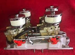 Offenhauser 4-deuce Fuel System For Small Block Chevy