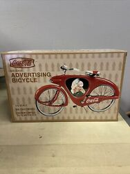 Coca Cola Die Cast Advertising Bicycle 1/6 Scale Limited Edition