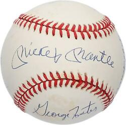 50 Home Run Club Autographed Vintage Baseball With 6 Signatures