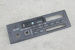 Bmw E30 M3 325is 325i 318is Alpine Cm5908 Radio Parts Button Face Plate