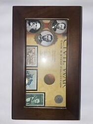 American Coin Treasures Civil War Coin And Stamp Collection Boxed Set 11165