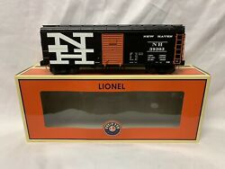 ✅lionel New Haven Round Roof Box Car 6-17766 O Scale Freight Train Ps-1