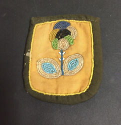 Native American Beaded Watch Pouch Medicine Bag 1920s