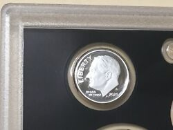 2021 S Silver Gem Proof Roosevelt Dime Fresh From Us Mint Really Nice High Grade