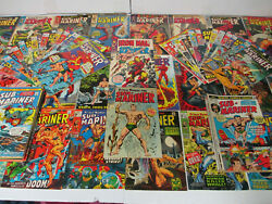 1968 Sub-mariner 1-72 And Annuals 1,2 Plus Iron-man 1 One Shot Complete Run