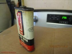 Vintage 3 In 1 Household Oil Can 3 Oz No Barcode Boyle Midway Tin Handy Oiler