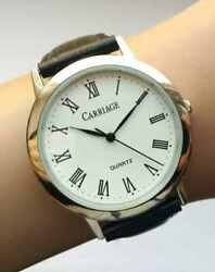Carriage By Timex Classic Watches Accessory From Usa Time Leather Japan Miyota