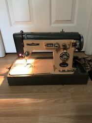 Vintage Electro- Grand 300 Zig Zag Sewing Machine With Case