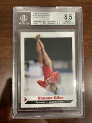 2014 Sports Illustrated Si For Kids Simone Biles Rookie 292 Bgs 8.5 🔥low Pop🔥