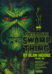 Absolute Swamp Thing By Alan Moore Vol 1 Hardcover Dc Comics Hc Srp 100