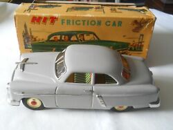San Marusan Toys Of Japan Friction 1952 Ford With Box