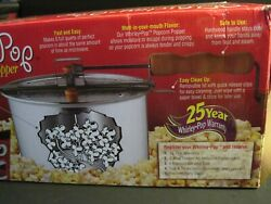New Wabash Valley Farms Whirley Pop - 3 Minute Popcorn Popper - 6 Quart 2017