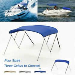 Vingli Standard Bimini Top 3 / 4bow Boat Cover 6ft / 8ft With Storage Boot