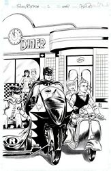 Mike Allred - Tavola Originale Archie Meets Batmanand03966 2 Cover