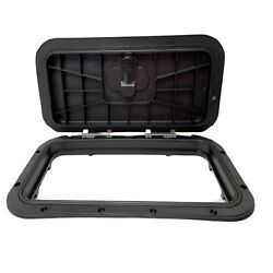 Innovative Product Solutions 520-039 8 X 14 Black Boat Deck Hatch