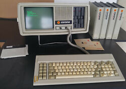 Vintage Corona Data Systems Model Ppc-21 Rare Complete W/extras