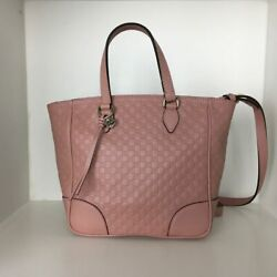 Women Bag Leather Size Small Pink Color V21