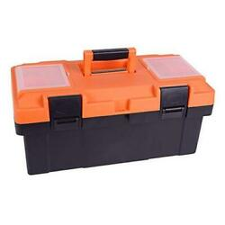 Plastic Tool Box, 18 -inch Portable Tool Box Plastic Toolbox With Removable