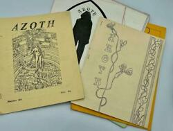 Azoth Occult Magazine 1970's Thelemic Oto Magick Sorcery Aleister Crowley