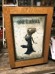 De Laval Cream Separator Country Store Parts Service Oak Cabinet W Parts And Sign