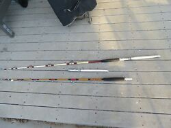 Penn 6/0 Saltwater Fishing Rod And Custom Aftco Roller Boat Rod Lot16818