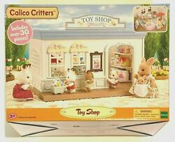 Calico Critters 30+ Pieces Toy Shop Toys And Gifts Store Connectable New In Box