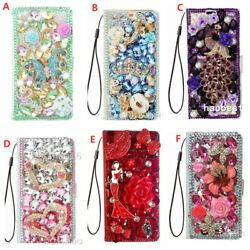 For Motorola One Action/hyper/fusion/vision Plus Case Bling Wallet Leather Cover