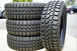 4 New Thunderer Trac Grip M/t Lt 235/75r15 Load C 6 Ply Mt Mud Tires