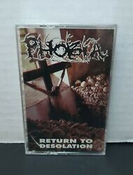 Phobia - Return To Desolation Cassette Sealed - Relapse Records
