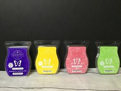 Scentsy Blueberry Cheesecake Squeeze The Day Rainbow Sherbet Mad For Melon Bars