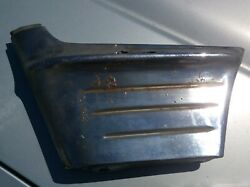 1956 Chevy Chevrolet Chrome Front Fender And Grill Side Wrap Around Extensions
