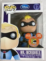Funko Pop Disney Store Limited Edition Mr. Incredible Blue Suit