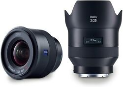 Zeiss Batis 2/25 Wide-angle Camera Lens For Sony E-mount Mirrorless Cameras