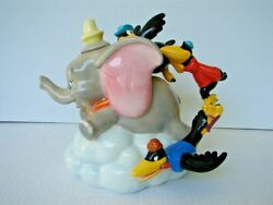 Vintage Disney Dumbo The Flying Elephant Teapot With Crow Handle New With Box