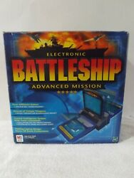 Rare Electronic Battleship Advanced Mission Board Game 2000 Works