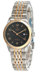 New Tudor 1926 28mm Auto Ss Black Dial Two-tone Women's Watch M91351-0003