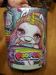 Poopsie Glitter Unicorn Doll 20+ Magic Surprises Toy Poops Slime Authentic