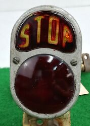 Antique Rer Lite Auto Stop Light Brake Tail Motorcycle 1920and039s Rare